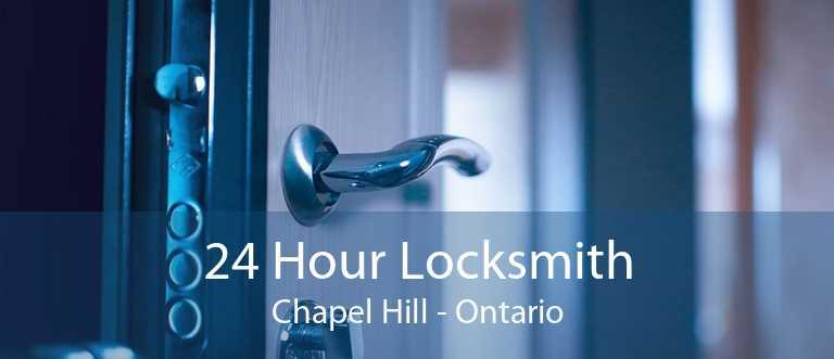 24 Hour Locksmith Chapel Hill - Ontario