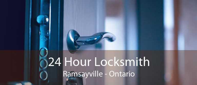 24 Hour Locksmith Ramsayville - Ontario
