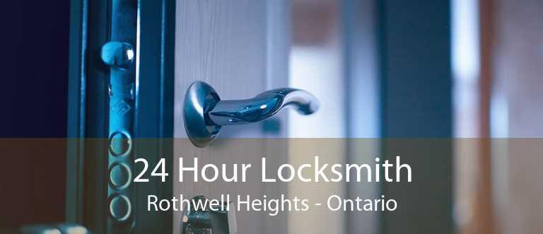 24 Hour Locksmith Rothwell Heights - Ontario