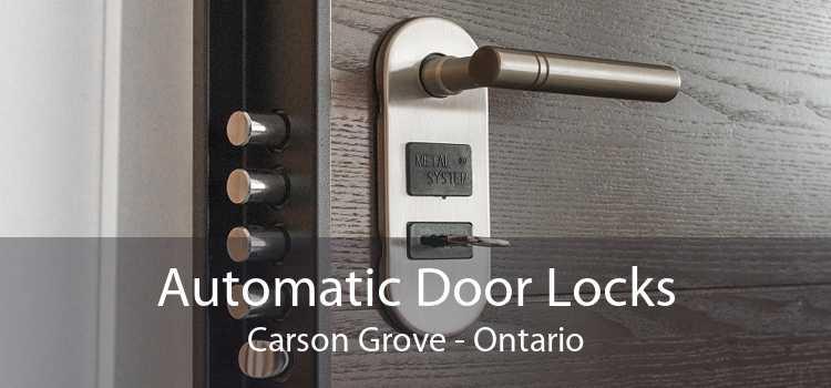 Automatic Door Locks Carson Grove - Ontario