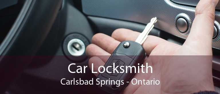 Car Locksmith Carlsbad Springs - Ontario