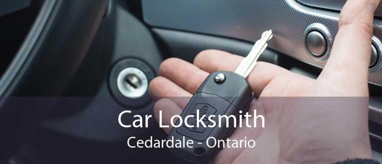 Car Locksmith Cedardale - Ontario