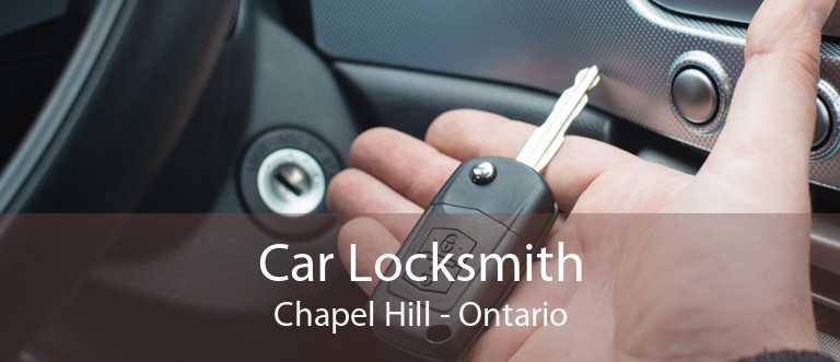 Car Locksmith Chapel Hill - Ontario