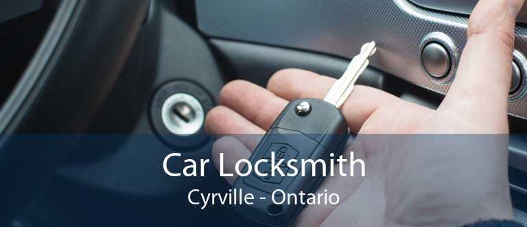 Car Locksmith Cyrville - Ontario