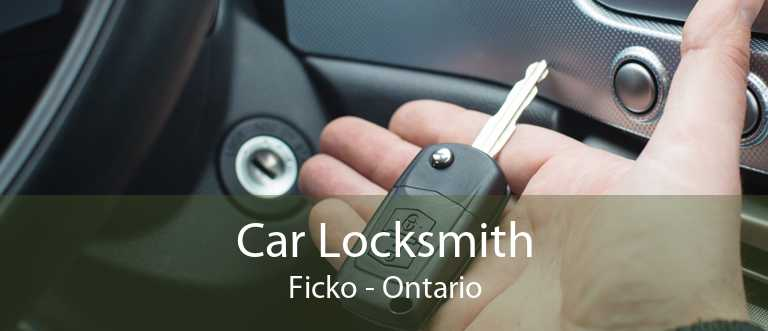 Car Locksmith Ficko - Ontario