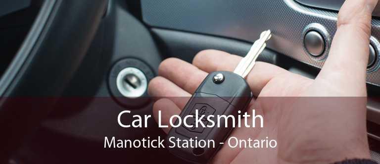 Car Locksmith Manotick Station - Ontario