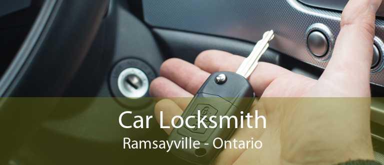 Car Locksmith Ramsayville - Ontario