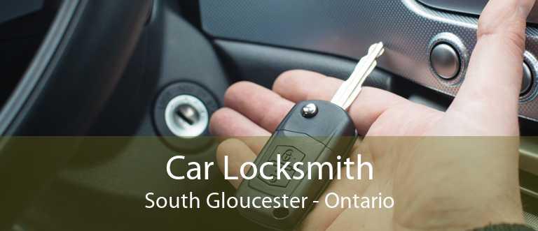 Car Locksmith South Gloucester - Ontario