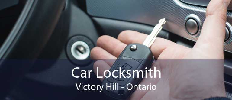 Car Locksmith Victory Hill - Ontario