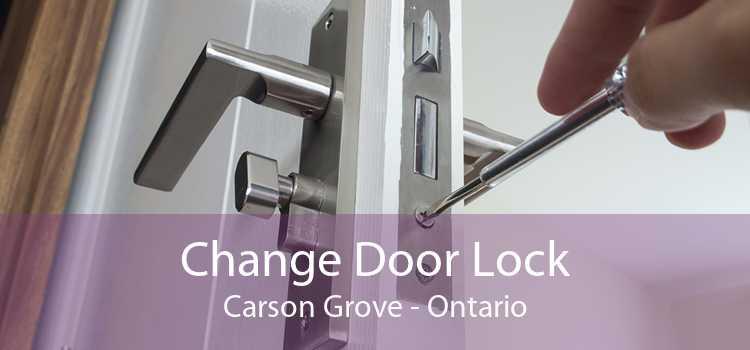 Change Door Lock Carson Grove - Ontario