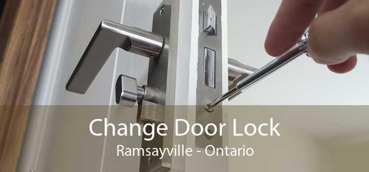 Change Door Lock Ramsayville - Ontario