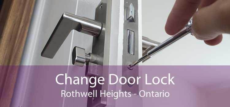 Change Door Lock Rothwell Heights - Ontario