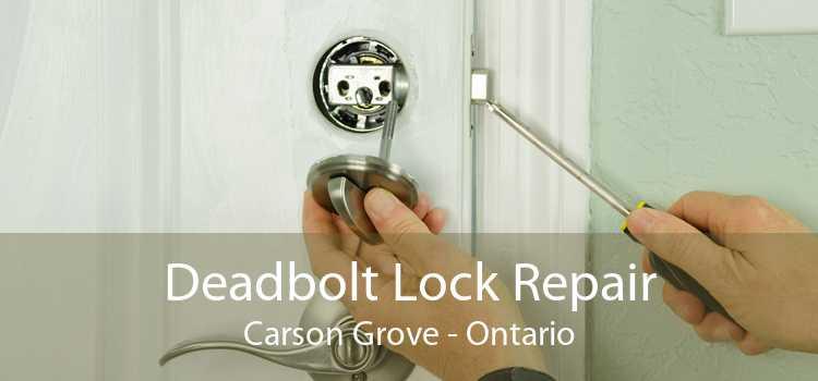 Deadbolt Lock Repair Carson Grove - Ontario