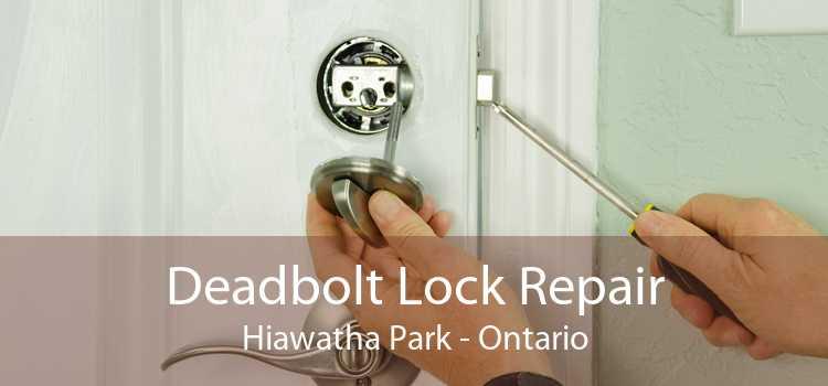 Deadbolt Lock Repair Hiawatha Park - Ontario