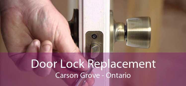 Door Lock Replacement Carson Grove - Ontario