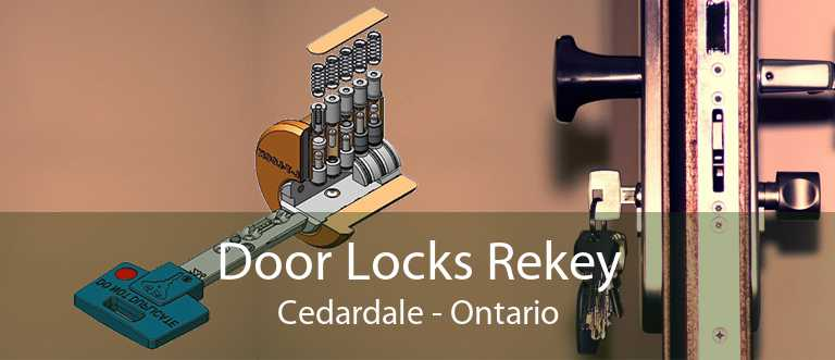 Door Locks Rekey Cedardale - Ontario