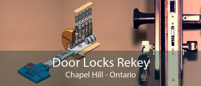 Door Locks Rekey Chapel Hill - Ontario