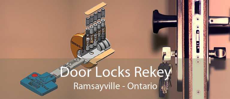 Door Locks Rekey Ramsayville - Ontario