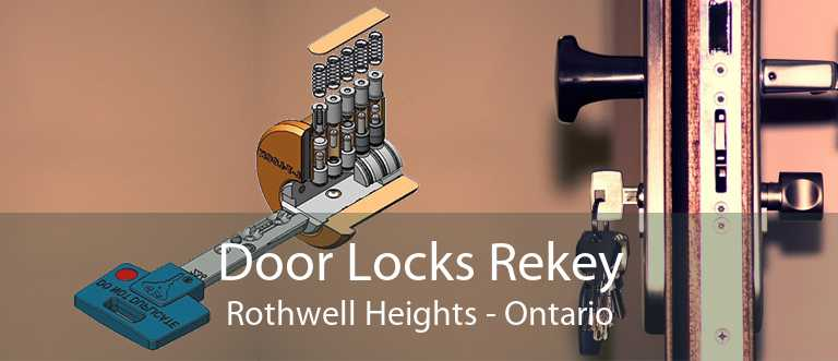 Door Locks Rekey Rothwell Heights - Ontario