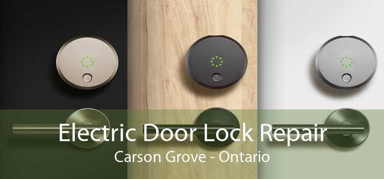 Electric Door Lock Repair Carson Grove - Ontario