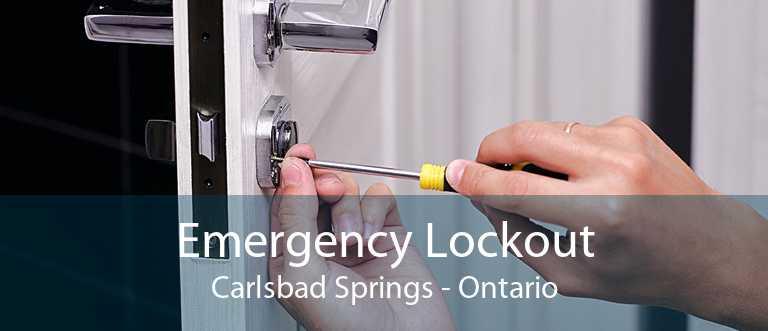 Emergency Lockout Carlsbad Springs - Ontario
