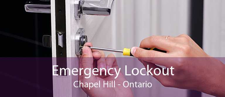 Emergency Lockout Chapel Hill - Ontario
