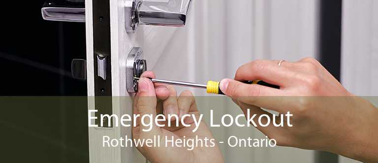 Emergency Lockout Rothwell Heights - Ontario