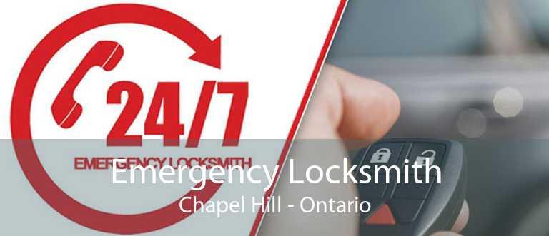 Emergency Locksmith Chapel Hill - Ontario