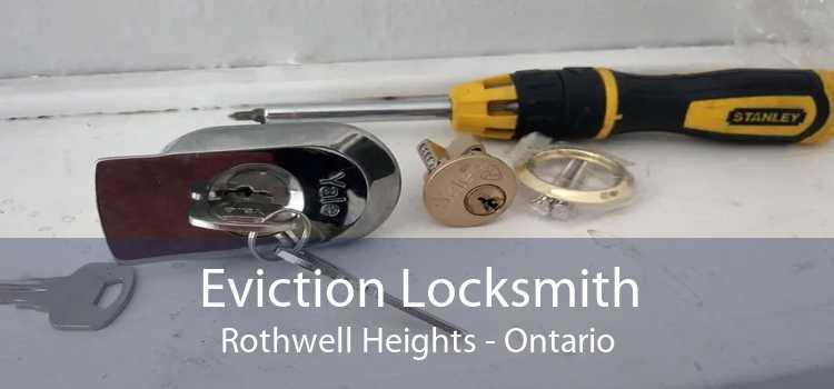 Eviction Locksmith Rothwell Heights - Ontario
