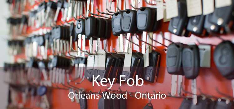 Key Fob Orleans Wood - Ontario