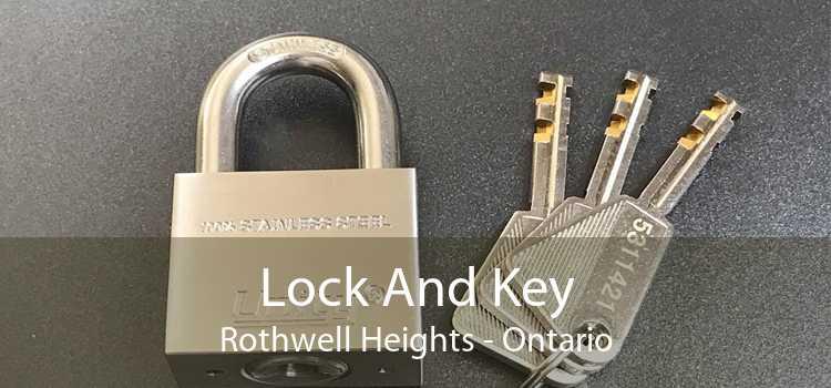 Lock And Key Rothwell Heights - Ontario
