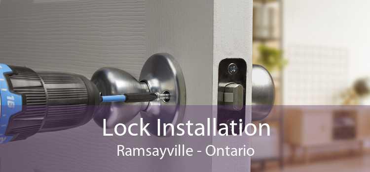 Lock Installation Ramsayville - Ontario