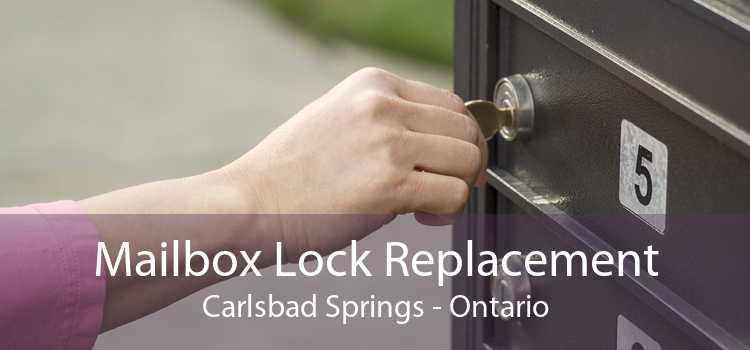 Mailbox Lock Replacement Carlsbad Springs - Ontario