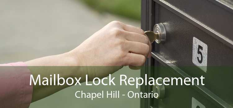 Mailbox Lock Replacement Chapel Hill - Ontario