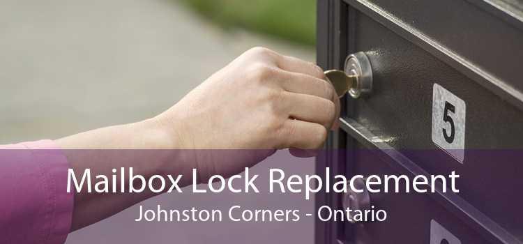 Mailbox Lock Replacement Johnston Corners - Ontario