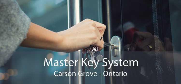 Master Key System Carson Grove - Ontario