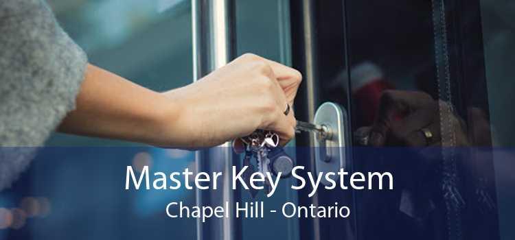 Master Key System Chapel Hill - Ontario
