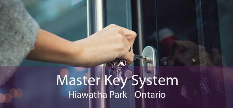 Master Key System Hiawatha Park - Ontario