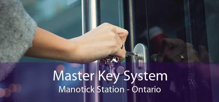 Master Key System Manotick Station - Ontario