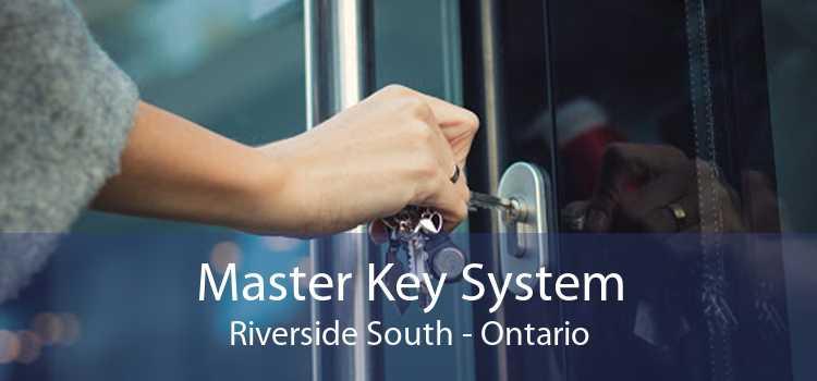 Master Key System Riverside South - Ontario
