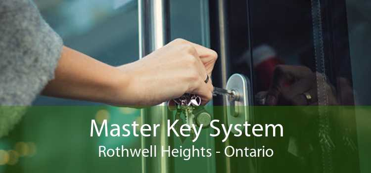 Master Key System Rothwell Heights - Ontario