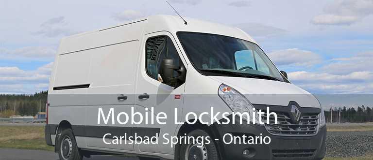 Mobile Locksmith Carlsbad Springs - Ontario