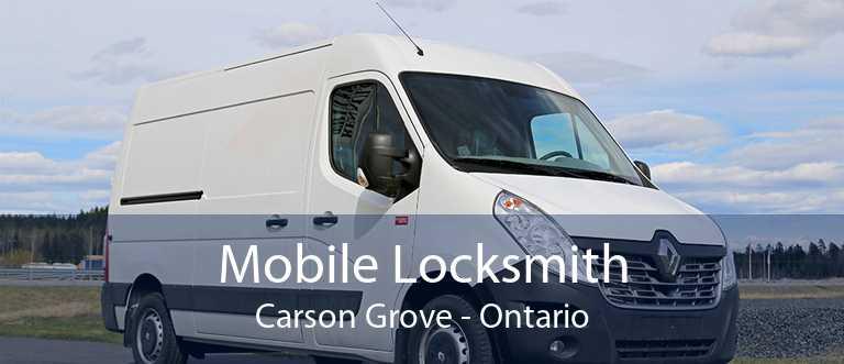 Mobile Locksmith Carson Grove - Ontario