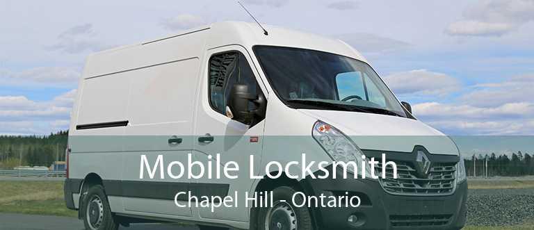 Mobile Locksmith Chapel Hill - Ontario