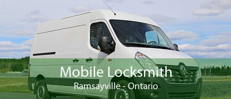 Mobile Locksmith Ramsayville - Ontario