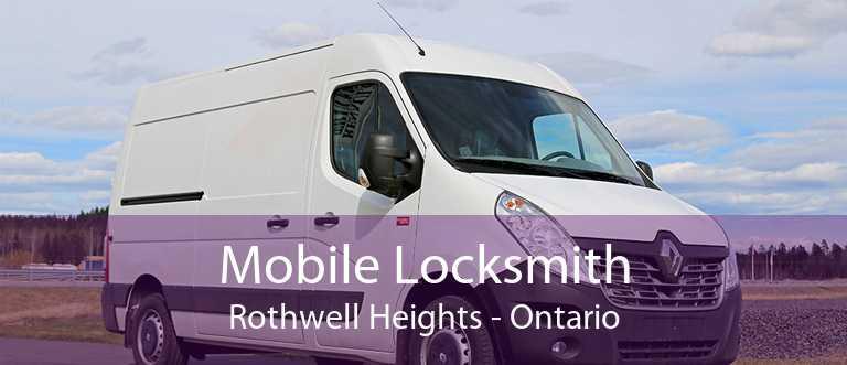 Mobile Locksmith Rothwell Heights - Ontario