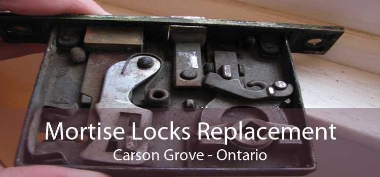 Mortise Locks Replacement Carson Grove - Ontario
