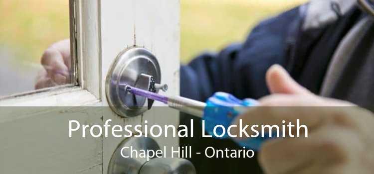 Professional Locksmith Chapel Hill - Ontario