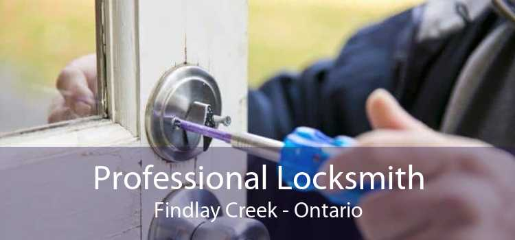 Professional Locksmith Findlay Creek - Ontario