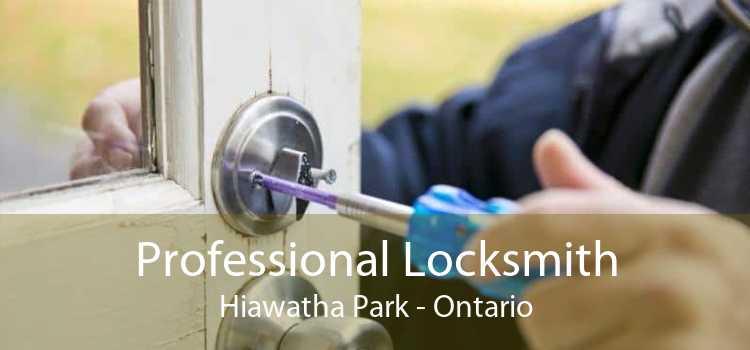Professional Locksmith Hiawatha Park - Ontario